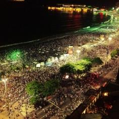 New Years Eve 2013 - Rio de Janeiro, Brazil
