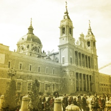 Almudena Cathedral - Madrid, Spain