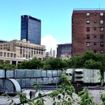 View from the Highline - NYC
