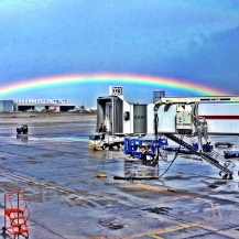 Rainbow at MIA