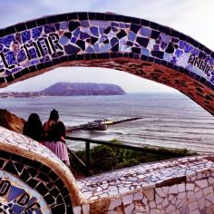 Love Park in Lima, Peru