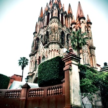 Cathedral in San Miguel de Allende, Mexico