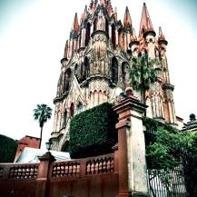 Cathedral in San Miguel de Allende, Mexico