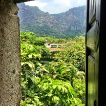 View of Tepozteco in Tepoztlán, MX