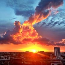 Brickell sunset, Miami