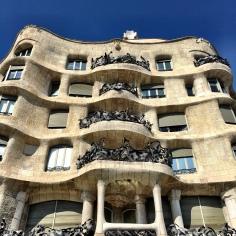 Casa Mila (La Pedrera) - Barcelona, Spain